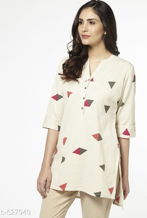 Short casual kurti pattern