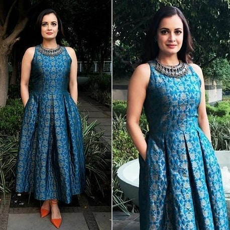 Dia Mirza kurti design catalogue