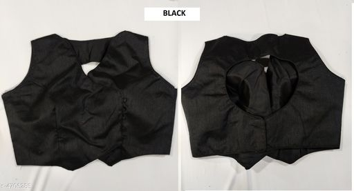 Cut out blouse back silk
