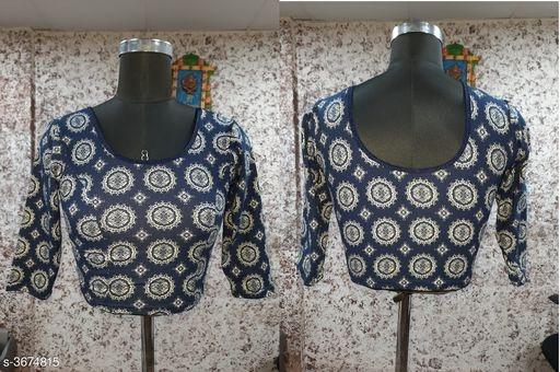 Three Quarter Blouse Sleeve Design