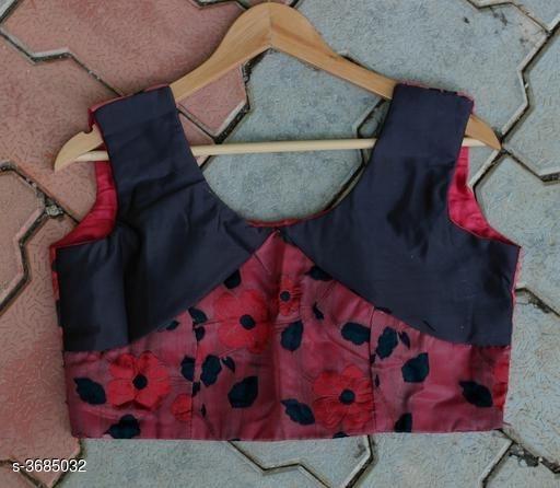 Sleeveless designer blouse