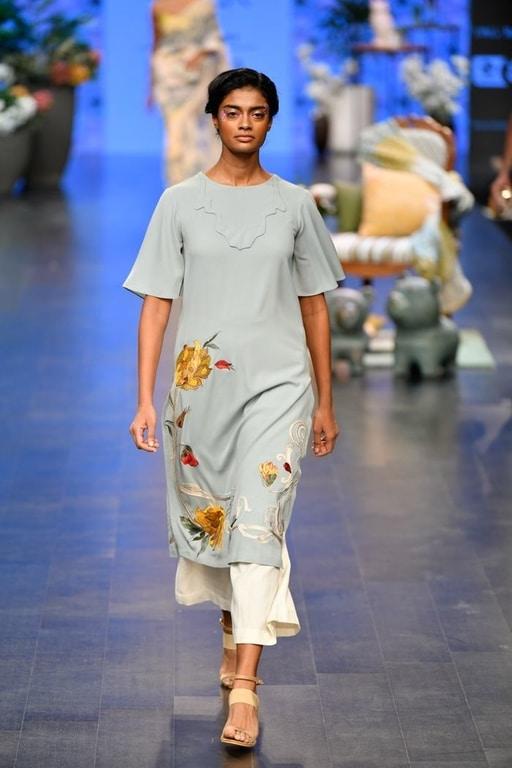Kimono Kurti Pattern