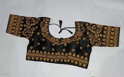 Half Sleeve blouse design