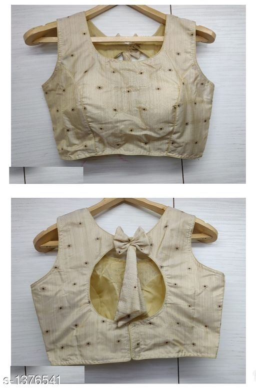 White Bow Back design blouse